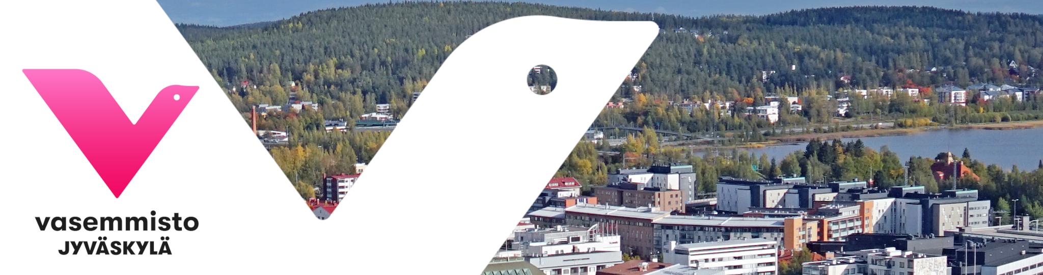 Jyväskylän kaupunki vaslogolla
