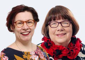 Kati Jetsu ja Eila Tiainen